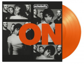 Echobelly On LP - Orange Vinyl-