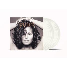Janet Jackson Janet 2LP - Clear Vinyl-