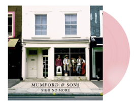 Mumford & Sons  Sign No More LP - Pink Vinyl -