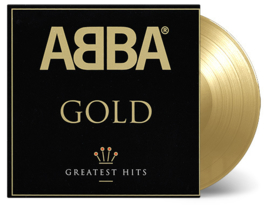 Abba Gold: Greatest Hits 180g 2LP - Gold Vinyl-
