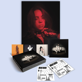 Billie Eilish When We All Fall Asleep, Where Do We Go CD - Clamshell Box-