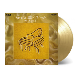 Nina Simone And Piano LP -  Gold Vinyl-