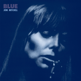 Joni Mitchell Blue LP - Blue Vinyl-