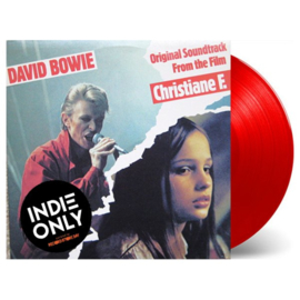 David Bowie Christiane F LP - Red Vinyl-