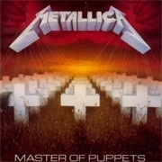 Metallica Masters Of Puppets LP
