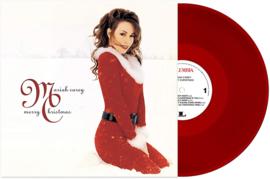 Mariah Carey Merry Christmas LP - Red Vinyl-