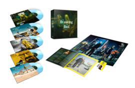 """Breaking Bad Soundtrack Numbered Limited Edition 10"""" Vinyl 5 Disc Box Set (Albuquerque Crystal Vinyl)"""