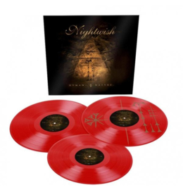 Nightwish Human :II: Nature 3LP - Red Vinyl-