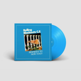 Rolling Blackouts Coastal Fever Sideways To New Italy LP - Blue Vinyl-
