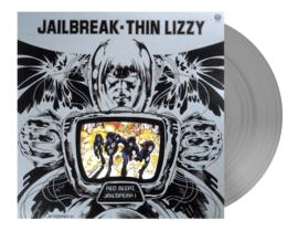Thin Lizzy Jailbreak LP - Silver Vinyl-