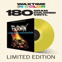 John Lee Hooker Burnin LP - Yellow Vinyl-