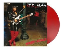 Rick James Street Songs LP - Red Vinyl-