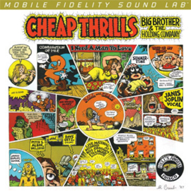 Big Brother and The Holding Company Cheap Thrills Numbered Limited Edition Hybrid Stereo SACD