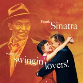 Frank Sinatra Songs For Swingin' Lovers LP - Orange Vinyl