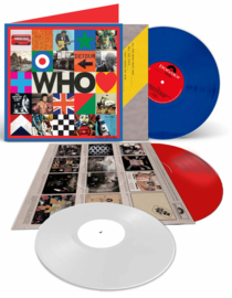 The Who Who 2LP + 7'  - Blue & Red Vinyl-