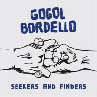 Gogol Bordello Seekers & Finders LP - Blue/White Vinyl-