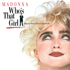 Madonna Who's That Girl Soundtrack LP -Clear Viny-