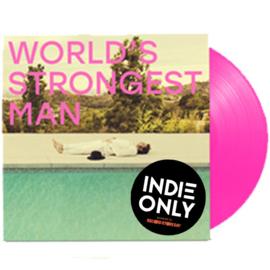 Gaz Coombes World's Strongest Man LP - Pink Vinyl-