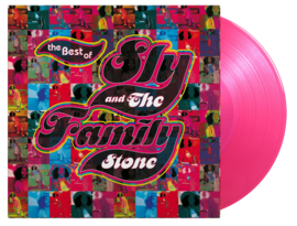 Sly & The Family Stone Best Of 2LP - Pink Vinyl-