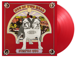 Status Quo Dog Of Two Head LP - Red Vinyl-