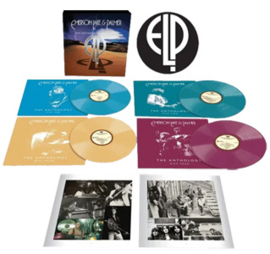 Emerson, Lake & Palmer The Anthology Half-Speed Mastered 4LP (Galaxy Effect Vinyl)