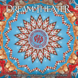 Dream Theater Lost Not Forgotten Archives: A Dramatic Tour Of Events - Select Board Mixes 180g 3LP & CD - Transparant Vinyl-