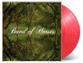 Band Of Horses Everything All The Time LP - Red Vinyl-