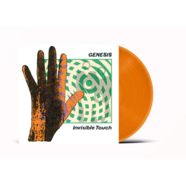 Genesis Invisible Touch LP - Orange Vinyl-