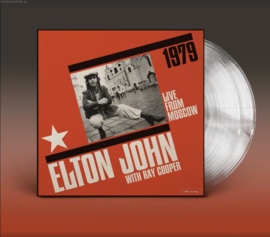 Elton John Live From Moscow 2LP - Clear Vinyl-