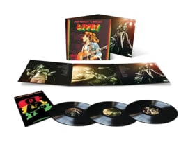 Bob Marley & The Wailers Live! (limited 3lp)