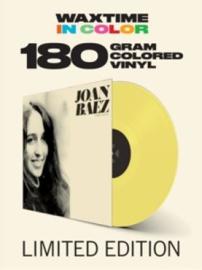 Joan Baez Joan Baez Debut LP - Yellow Vinyl