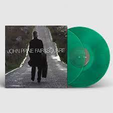 John Prine Fair & Square 2LP - Green Vinyl-