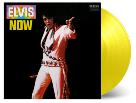 Elvis Presley Elvis Now LP - Yellow Vinyl-