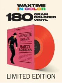 Marty Robbins Gunfighter Ballads And Trail Songs LP -Red Vinyl-