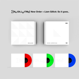 New Order + Liam Gillick So it Goes 3LP  - Coloured Vinyl-