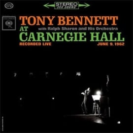 Tony Bennett At Carnegie Hall HQ 2LP.