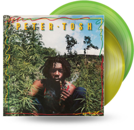 Peter Tosh Legalize It 2LP - Green Yellow Vinyl-