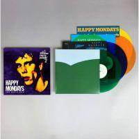 Happy Mondays Early Ep's 4LP - Coloured Vinyl-