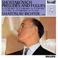 SHOSTAKOVICH PRELUDES & FUGUES OP. 87 LP