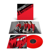 Kraftwerk The Man-Machine LP - Red Vinyl-