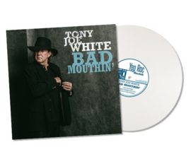 Tony Joe White Bad Mouthin 2LP Blue Vinyl-