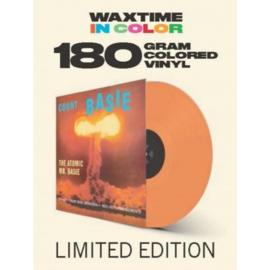 Count Basie The Atomic Mr. Basie LP - Orange Vinyl