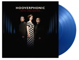 Hooverphonic With Orchestra Live 2LP - Blue Vinyl-