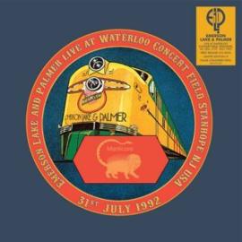 Emerson, Lake & Palmer Live At Waterloo Concert Field Stanhope NJ USA LP