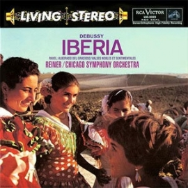 Fritz Reiner Debussy Iberia 200g LP