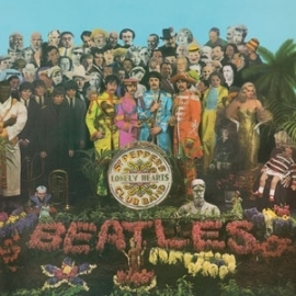 The Beatles - Sgt. Pepper's Lonely Hearts Club Band LP - Mono-.