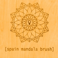 Spain Mandala Brush LP