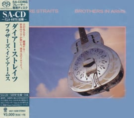 The Dire Straits Brothers In Arms Single-Layer Stereo Japanese Import SHM-SACD