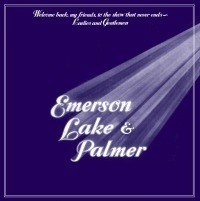 Emerson, Lake and Palmer - Welcome Back My Friends To The Show That Never Ends LP