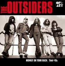 Outsiders - Monkey on your Back: their 45`s 2LP -Ltd-